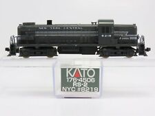 N Scale KATO 176-4506 NYC New York Central RS-2 Diesel Powered #8219 w/ Lights