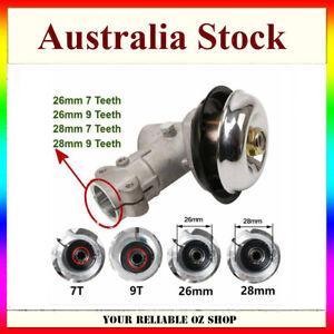 26mm 28mm 7 Spline 9 Spline Gearbox Gear Head For Trimmer Brushcutter Strimmer
