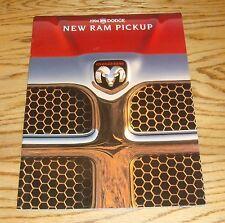 Original 1994 Dodge Ram Pickup Truck Deluxe Sales Brochure 94