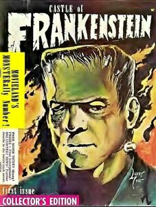 CASTLE OF FRANKENSTEIN 30 Choice Issue Collection On USB Flash Drive
