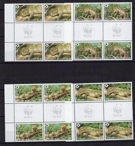 4x Solomon Isl. - WWF - Animals - Briefmarken - Timbres Stamps perf. MNH** - Z17