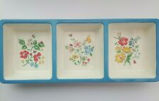 Cath Kidston Melamine Floral Divided Snack Tray
