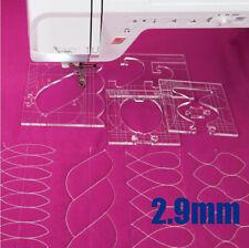 new ruler border sampler template set for sewing machine 1 set =4pcs #RL-04W