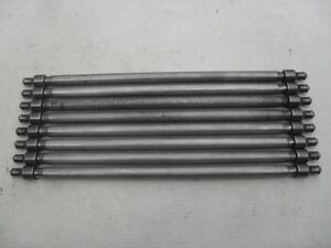 USED ORIGINAL PORSCHE 356 912 ENGINE PUSH RODS 61610502802 SET OF 8
