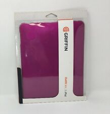 Griffin Outfit Ice Polycarbonate Hard Shell Case For iPad-GB01660 Pink