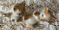 "Vintage 4""  kittens  Playing Figurine Japan"