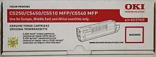 OKI ORIGINAL TONER MAGENTA 42127455 C5250 C5450 C5510  C5540 MFP  FREE SHIPPING