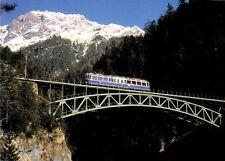 Postkarte: Mittenwaldbahn auf dem Schloßbachviadukt, Tirol, Österreich