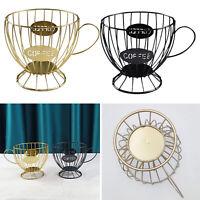 Coffee Pod Holder Mug Cup Keeper Capsule Coffee Espresso Storage Basket Stand