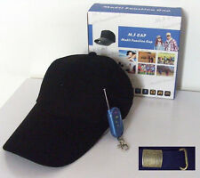 Hidden Spy Bug Camera Dvr Baseball Cap Video/Sound Recorder With Remote Control