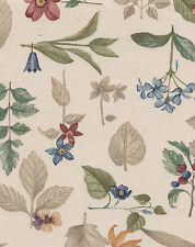 Longaberger 79 - 04 Small Fruit Basket Botanical Fields Fabric Liner NIP