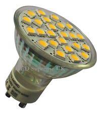 GU10 24 SMD LED 380LM 3.5W White Bulb ~50W