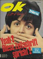 ok ist okay! Nr.1 vom 1.11.1965 Beatles, Udo Jürgens, Francoise Hardy, Cher ...