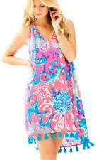Lilly Pulitzer Roxi Dress, I'm So Jelly, Coral Reef, Small, NWT