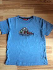 Salt and Pepper T-Shirt Gr. 116/122 Traktor blau