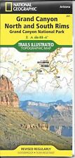 Map of Grand Canyon, North and South Rims, Arizona, by National Geographic #261