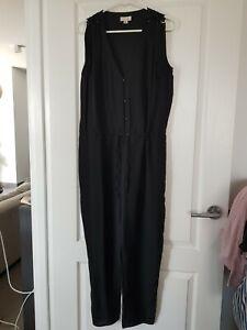 Witchery Silk Jumpsuit - Size 10