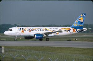 MD05  Original aircraft slide/Dia  Thomas Cook A320 OO-TCH