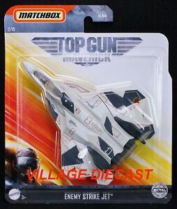 2020 Matchbox Sky Busters® Top Gun Maverick #2 Enemy Strike Jet™ WHITE / MOC