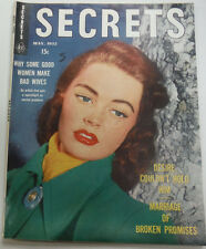 Secrets Magazine Why Some Good Women Make Bad Wives May 1952 070315R
