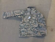 Air Force All Purpose Environmental Camouflage Gore Seam Hood Parka Jacket Large