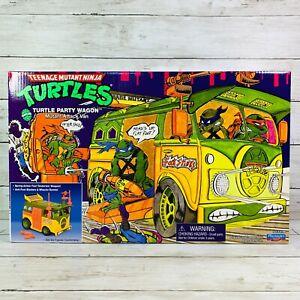 Playmate Toys TMNT Original Party Wagon Teenage Mutant Ninja Turtles 2021 New