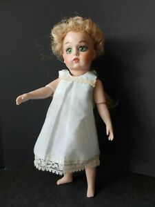 """10"""" Artist Repro of FRENCH BRU DOLL all PORCELAIN"""