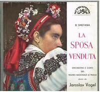 Smetana: The Bartered Bride (La Braut Verkauft) / Vogel, Prague Nat LP Ex / VG