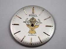 Ernest Borel Elk Vintage Mens Watch Dial Pearl Automatic Gold Mrkrs 28.63mm NOS