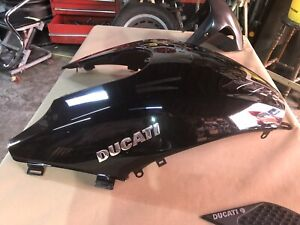 Ducati Diavel Tank Cover In Gloss Black