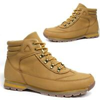 Mens Ankle Boots New Hiking Walking Desert Biker Winter Trainers Shoes Size