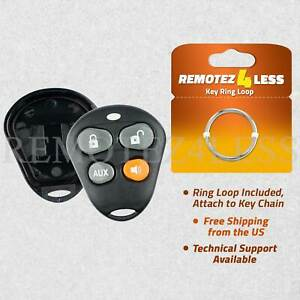 Remote for Viper Keyless Entry Shell Case