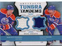 Magnus Paajarvi / Linus Omark 2013-14 UD Artifacts Tundra Tandems Dual Jersey