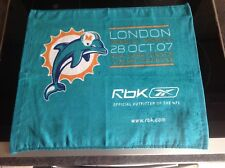 Miami Dolphins V New York Giants Wembley 2007 Towel New