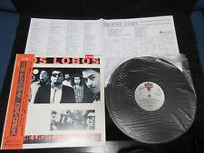 Los Lobos By The Light of The Moon Japan Promo Label Vinyl LP OBI Latin Playboys