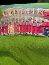 Vtg BARBIE Trading Cards  1990 #5527 New in Packages Lot of 21