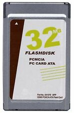 New 32MB PCMCIA ATA Flash Card (Sandisk replacement p/n SDP3B-32)