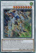 YU-GI-OH CARD: CRYSTAL WING SYNCHRO DRAGON -SECRET RARE -BLLR-EN062 -1st EDITION