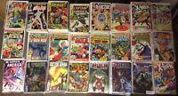 Vintage Comics,Spider-Man,Thor,X-men And More.Grab Bag Lot Of 5 With Bonus Book
