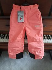 Girls ski trousers Peach aged 7-8 years Nevica Meribel .New