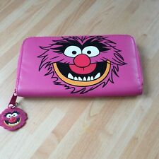 More details for disney store animal long pink purse the muppets without tags  very rare