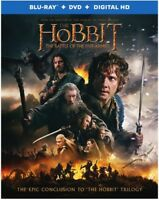 The Hobbit: The Battle of the Five Armies [New Blu-ray] With DVD