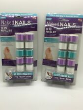 2 Finishing Touch Naked Nails Electronic Nail Care Refill Roller Replacements