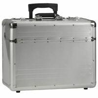 Alumaxx Piloten Business Akten Trolley Alu Koffer OMEGA Laptop Notebook