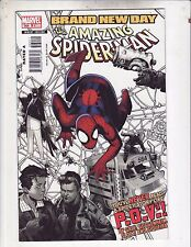 Amazing Spiderman #564 Vf/Nm 2008 Brand New Day Free Shipping