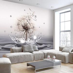 PUSTEBLUME WASSERTROPFEN Vlies Fototapete Tapete Wandbilder xxl b-C-0732-a-a