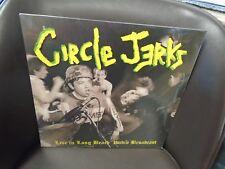 Circle Jerks Live In Long Beach 1986 2x LP NEW vinyl