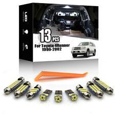 13x For Toyota 4Runner 1996-2002 Car Interior LED Lighting Kit ERROR FREE + TOOL