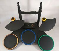 RedOctane Wireless Guitar Hero Drums 95519.805 Xbox 360 Untested