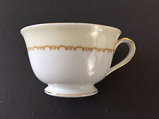 Noritake China Olympia 680 Yellow / Green Leaves Vine, Floral - TEA CUP